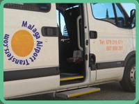 malaga minibus